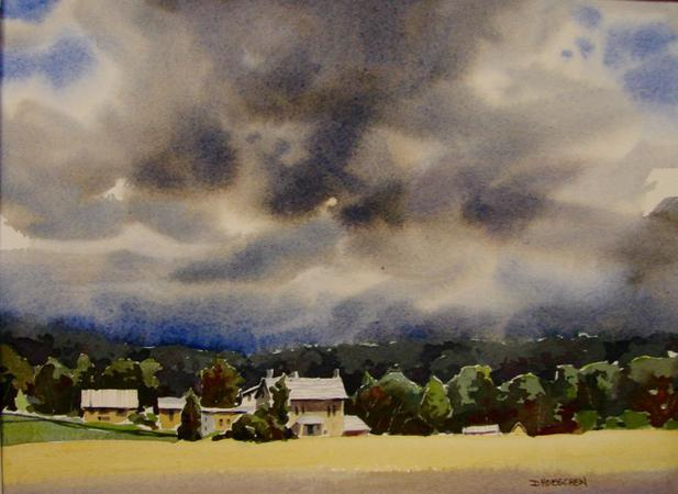 d2dc1c113824 Seen here  Bucks County Playhouse and Wednesday s Storm (a winner in the  2016 Bucks County Plein Air Festival - both available at the gallery.