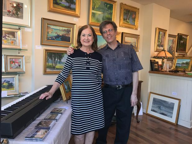 38f50abb86f8 on receiving two prizes at this year s Bucks County Plein Air Festival.  Including that for the