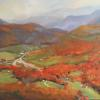 "Blue Ridge Autumn Oil, 11"" x 14"""