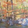"Autumn in the Gorge  Oil, 24"" x 36"""