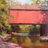 "Below the Frankenfeld Bridge Oil, 12"" x 16"""