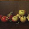 "Red and Green Apples Oil,  10"" x 26"""