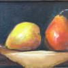 """A Pair of Pears"" Oil, 6"" x 8"""