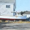 "Lobster Boat, Southwest Harbor Watercolor, 7.5"" x 11.25"""